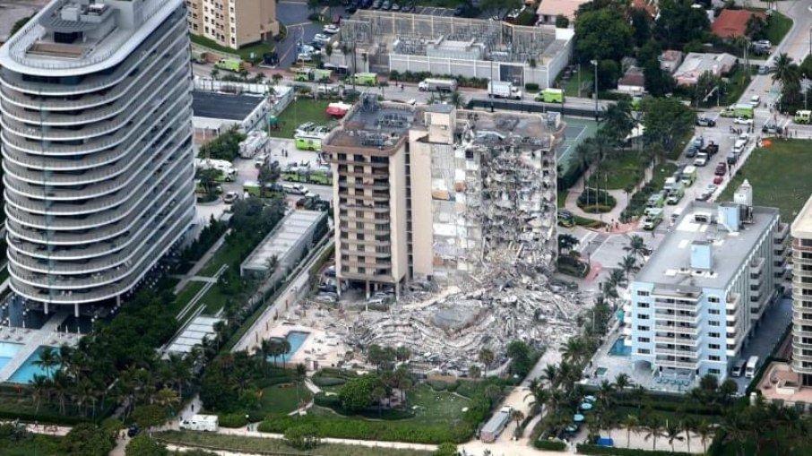 EUA: Sobe para cinco número de mortos em desabamento de prédio em Miami