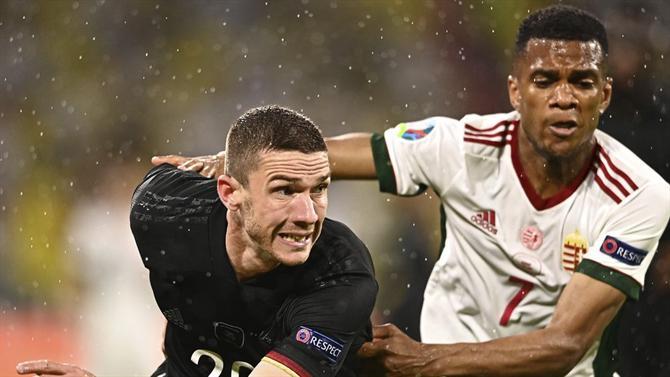 Euro2020: Empate arrancado pela Alemanha frente a Hungria