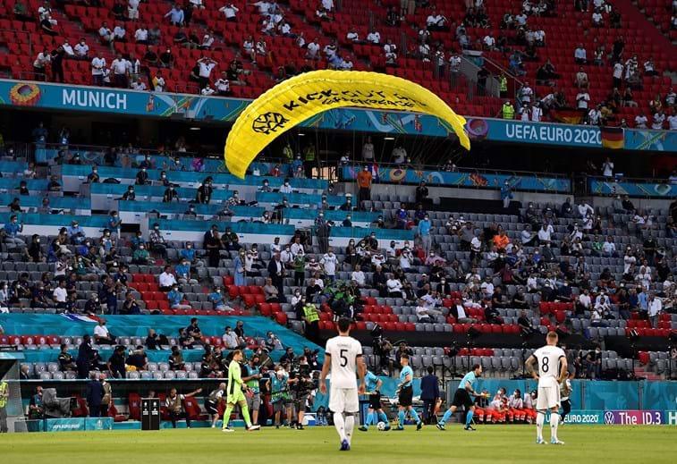 Euro2020: França vence a Alemanha em Munique com protesto da… Greenpeace
