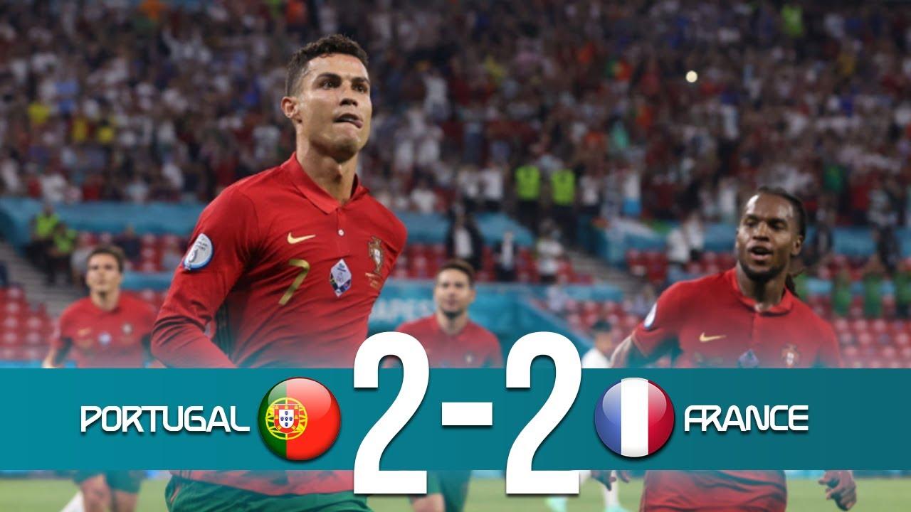 Euro2020: o resumo do empate entre Portugal e a França