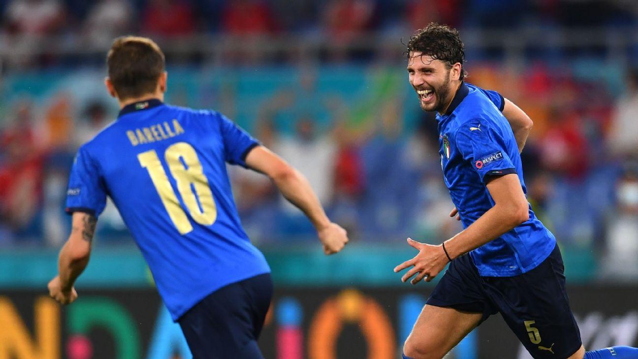 Futébol: Itália brilha, vence a Suíça e está nas oitavas da Eurocopa