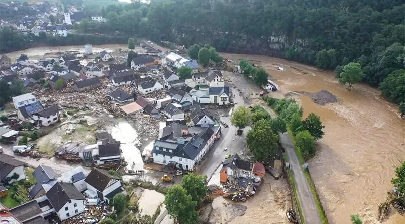 Alemanha: Inundações mortais
