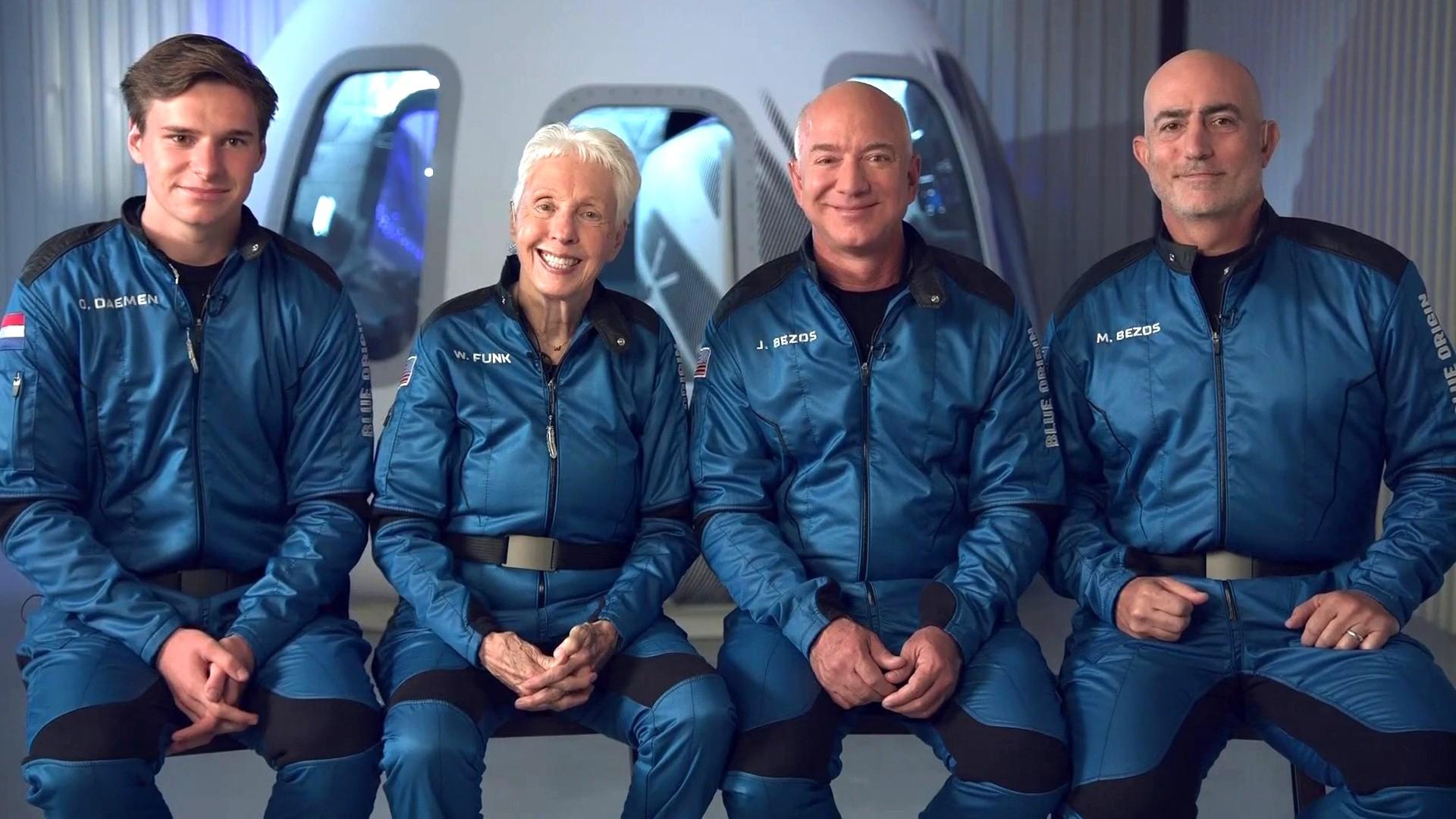 Como seguir ao vivo o voo de Jeff Bezos para o espaço