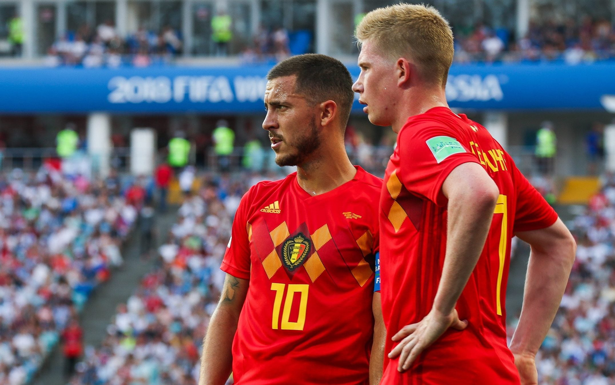 Euro2020: Eden Hazard e De Bruyne não devem defrontar a Itália