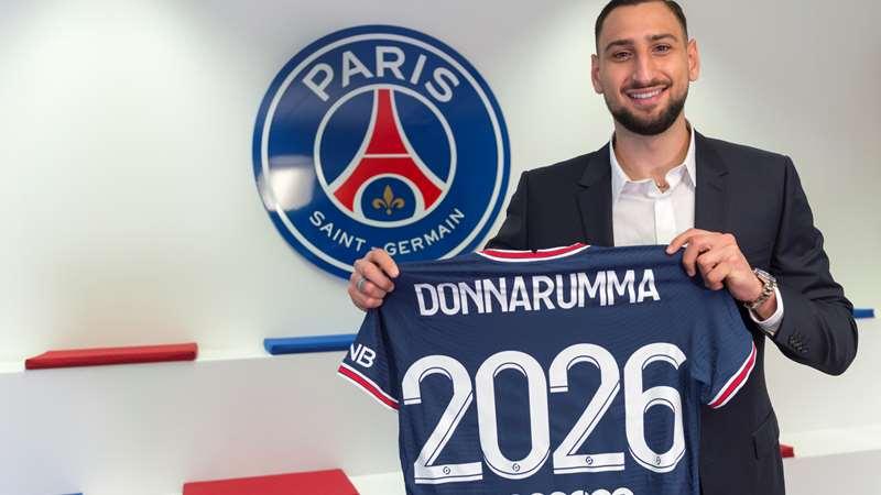 Gianluigi Donnarumma é oficialmente um jogador do PSG
