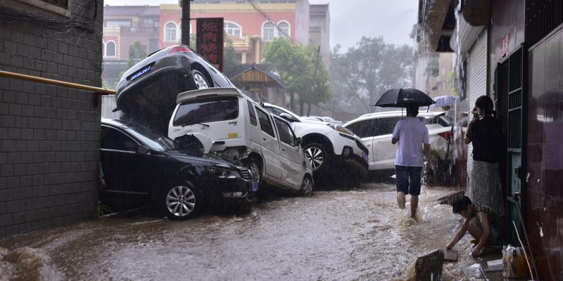 Asia: China afetada pelas chuvas mais fortes do milénio