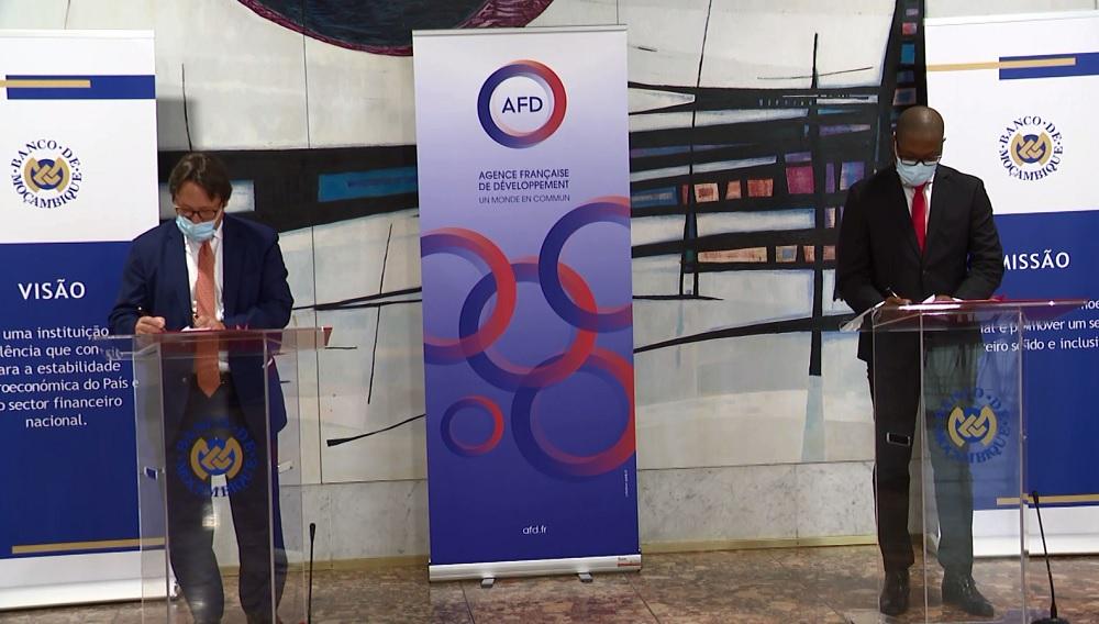 Moçambique: França apoia Banco de Moçambique no combate a crimes financeiros