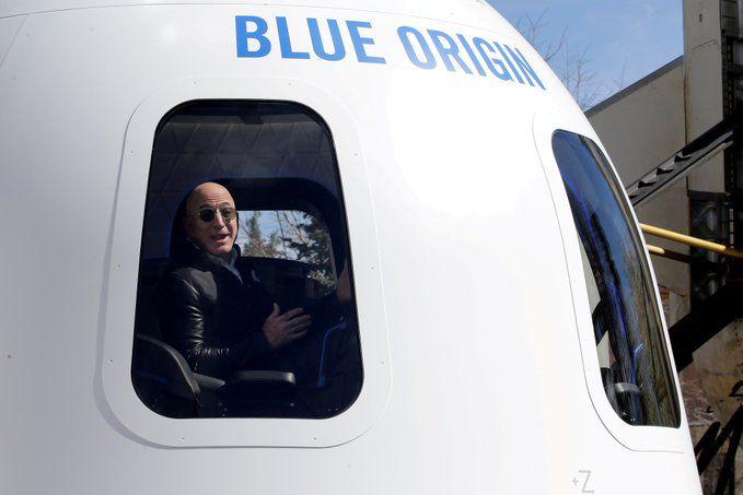 EUA: Jeff Bezos concretiza o sonho de ir ao espaço hoje