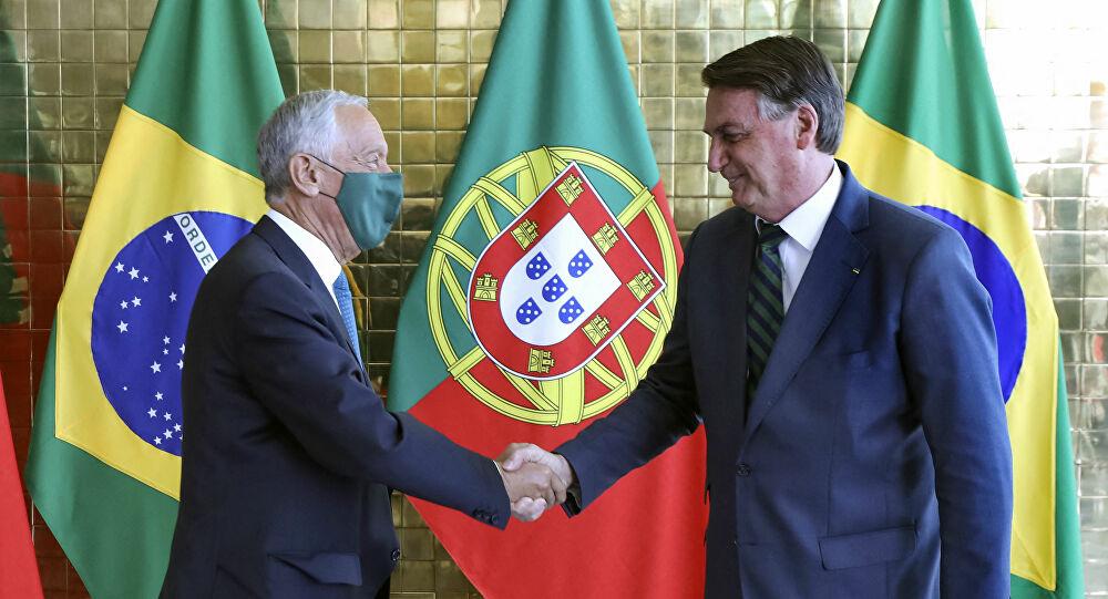 Portugal: PR-Marcelo Rebelo de Sousa reuniu-se com Bolsonaro