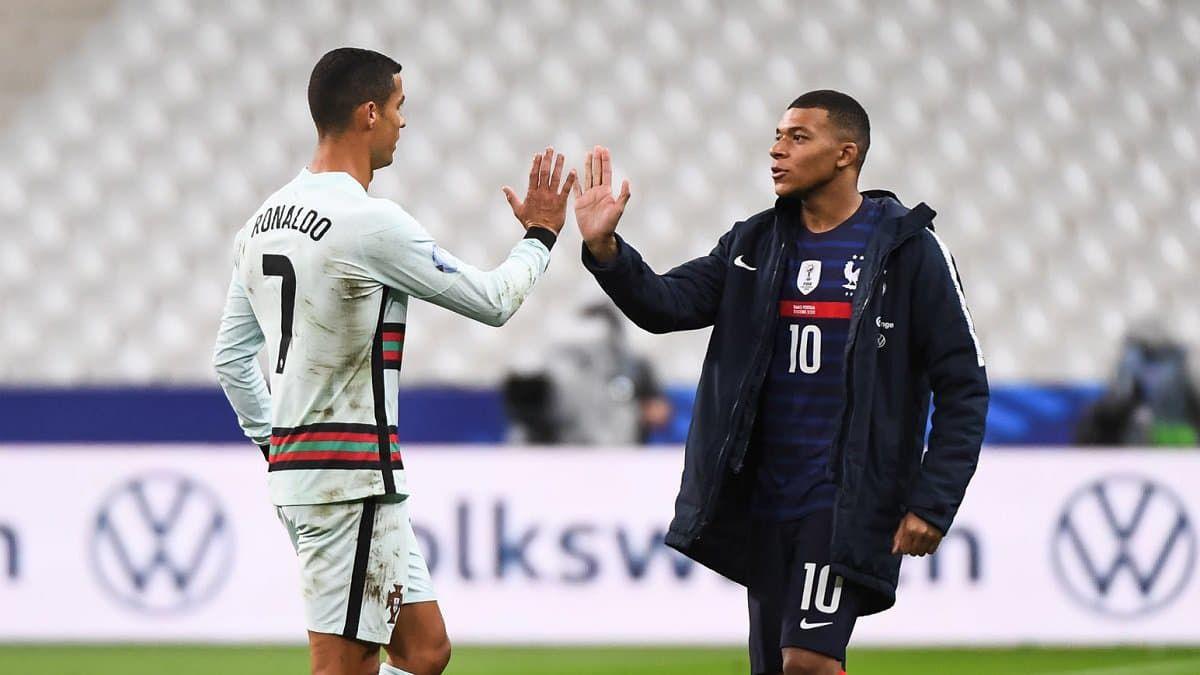 """Desporto: Mbappé """"bloquea"""" Cristiano Ronaldo"""