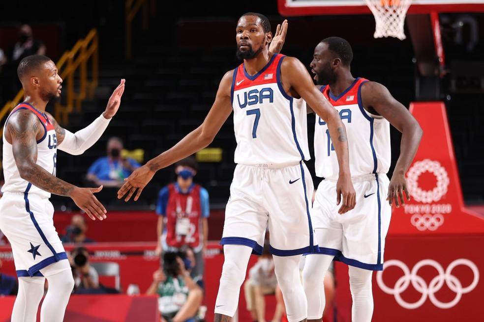 Basquetebol: Americanos na final do torneio de basquetebol nos Jogos Olímpicos