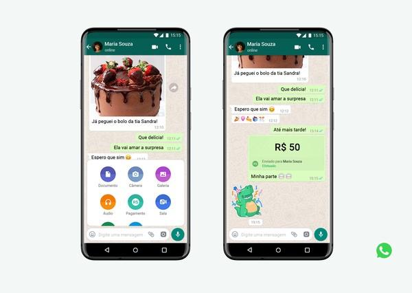Tech: WhatsApp terá botão dedicado a enviar dinheiro