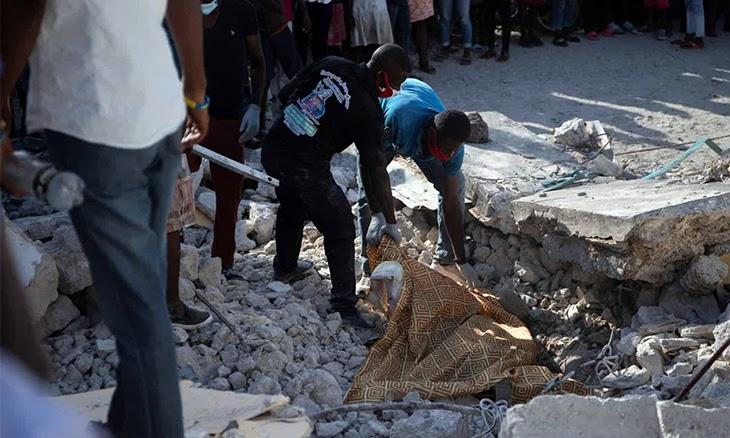 Mundo: Sismo no Haiti fez pelo menos 2.189 mortos e mais de 12.000 feridos – novo balanço