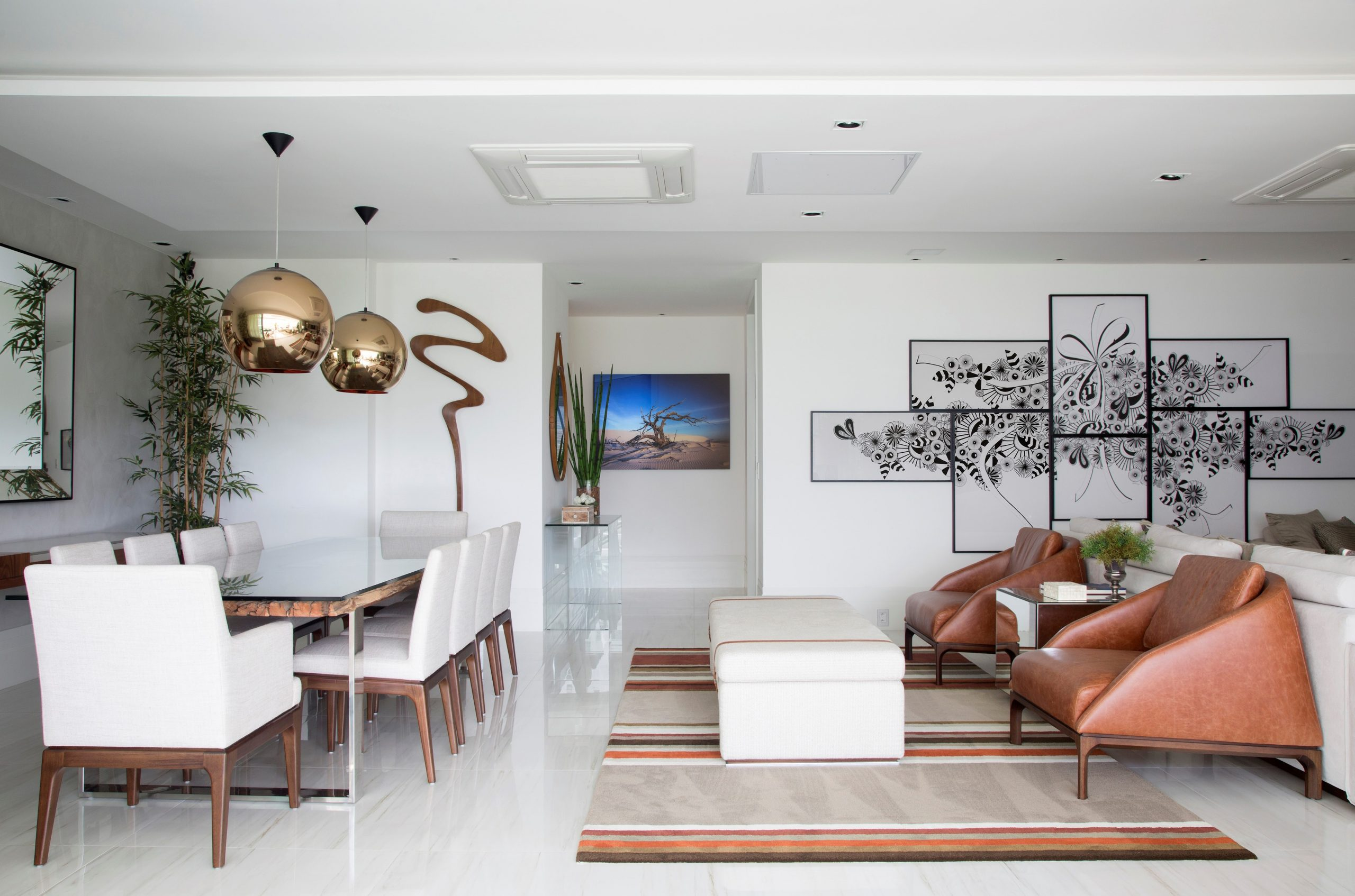 Decoração: Elegância e praticidade, conheça dicas de decoração infalíveis para sala