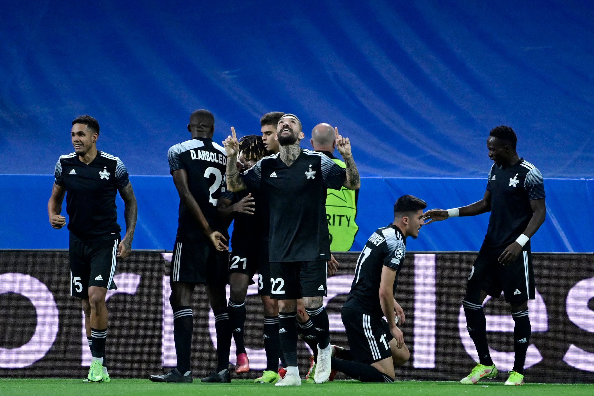 Futebol: Sheriff choca o Real Madrid no grupo da Liga dos Campeões