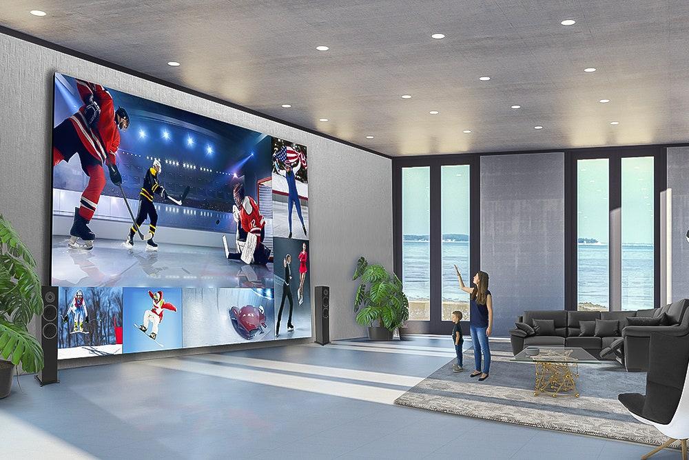 Tech: LG lança uma enorme TV LED 8K com uma diagonal de mais de 8 metros