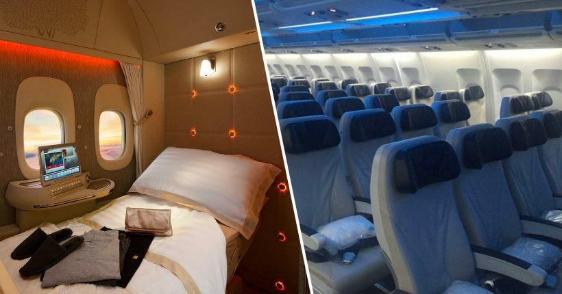 Lifestyle: Aqui está o truque para viajar em primeira classe sem pagar mais, de acordo com uma hospedeira de bordo